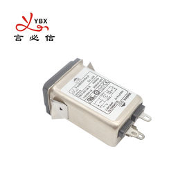 120V 250V Electrical Plug In AC Noise Filter Current 1A 3A 6A 8A 10A 15A