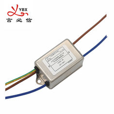 Yanbixin SMPS AC Single Phase RFI Filter Rated Current 1A-10A Stable Performance