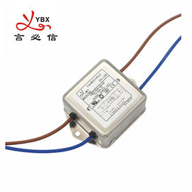 Electrical EMI Power Noise Filter Single Phase Customized Service