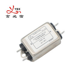 Yanbixin 6A 120 250VAC Single Phase RFI Filter , EMC Noise Filter For Military