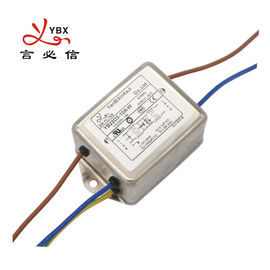 10A 115V Power EMI EMC Filter Single Phase With Increased Attenuation