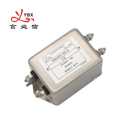 Double Stage AC Voltage Line Filter 1A-20A Metal Case Eco - Friendly