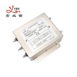 120V 30A 250VAC AC Power Noise Filter / AC Line EMI Filter Metal Case