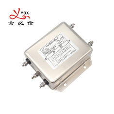 10A EMC EMI AC Power Noise Filter , Low Pass AC Line Noise Filter