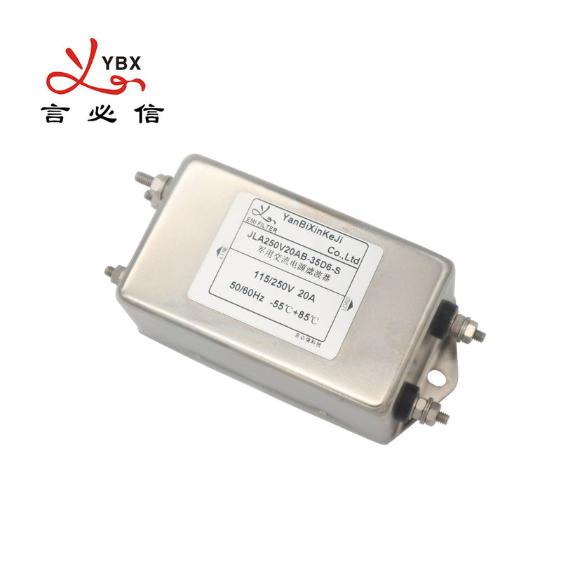 Yanbixin Military Single Phase RFI Filter / 35D6 20A 120 250VAC AC RFI Filter