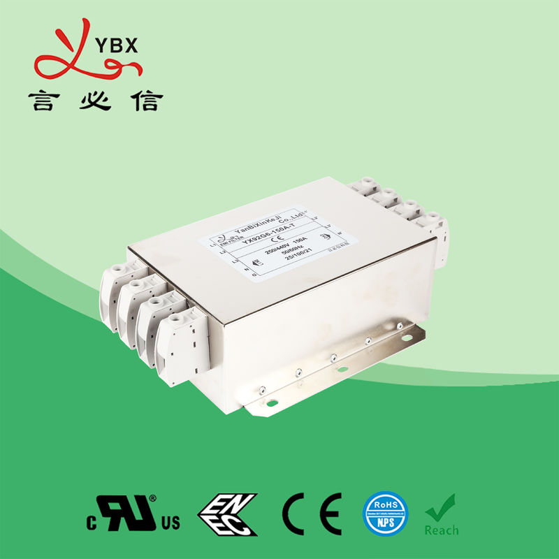 380V/440V Three Phase EMI Filter For Automation Equipment OEM Service